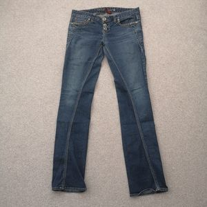 🌿 FREE Guess Twisted Seam Straight Jeans *flaw